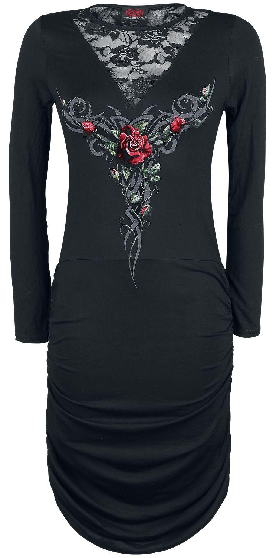 Černé šaty s krajkou - Obrázek č. 1