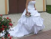 Svatební šaty a vlečkou, 34