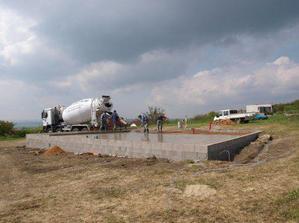 betonování desky 23042009