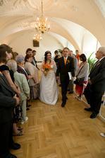 Špalír pro novomanžele:-¨)