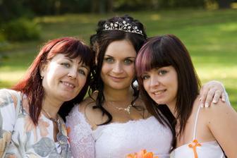 S mamkou a se sestrou...