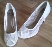 Krajkové svatební boty, 41