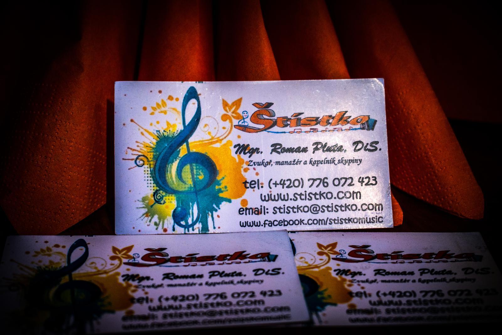 Štístko MUSIC - Profesionální hudební skupina (kapela) nebo DJ na vaši party !!! - Obrázek č. 1