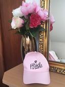 Růžová kšiltovka Bride Nevěsta,