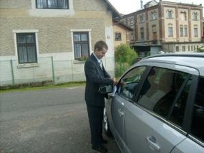 Můj šofér :)