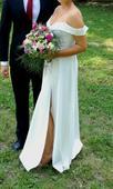 Svatební splývavé šaty, 40