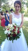 Svatební šaty od Zuzany Lešák Černé, 36