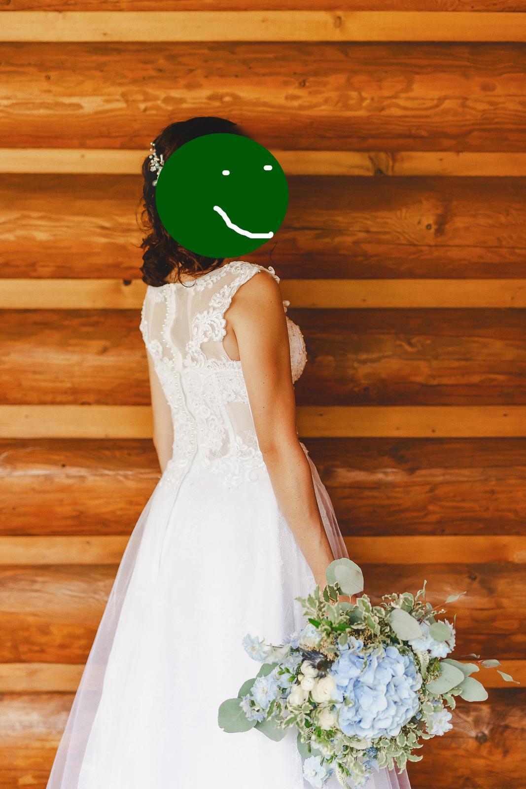 Lahucke svadobne saty - Obrázok č. 1