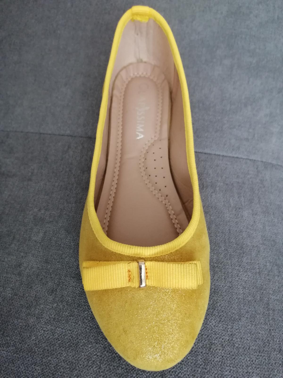 Zlte balerinky - Obrázok č. 1