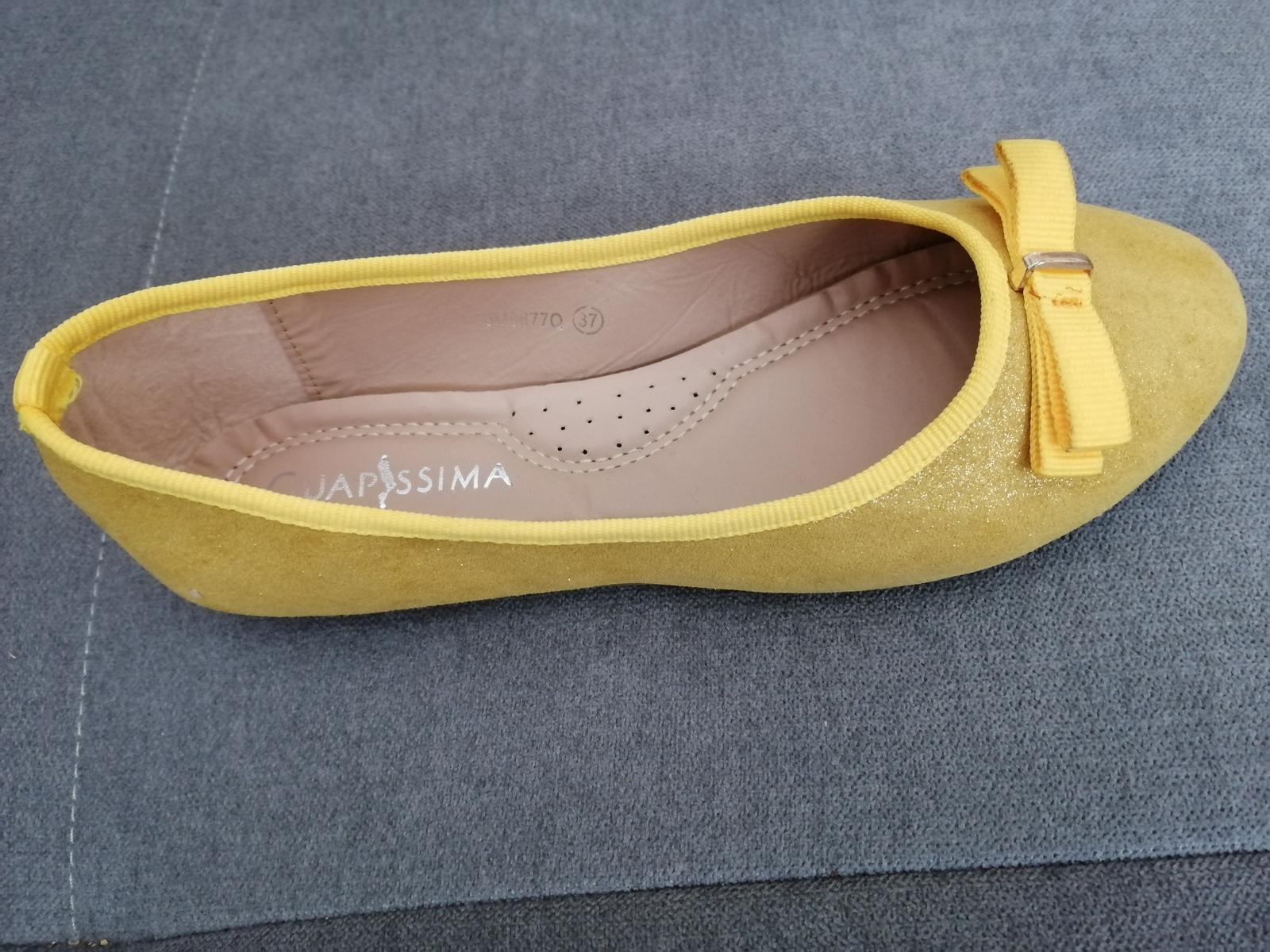 Zlte balerinky - Obrázok č. 2
