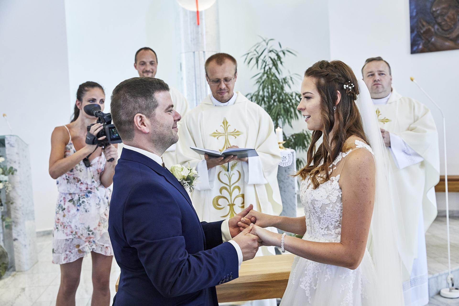 Naše slovácká svatba - Slib