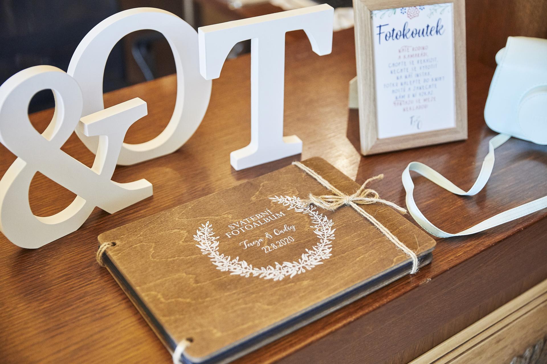 Naše slovácká svatba - Kniha hostů