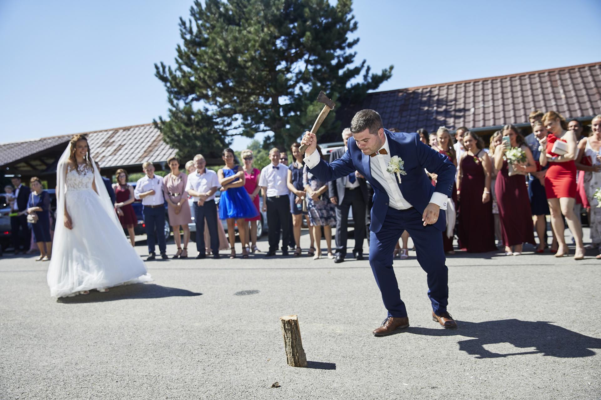 Naše slovácká svatba - ještě tradice...