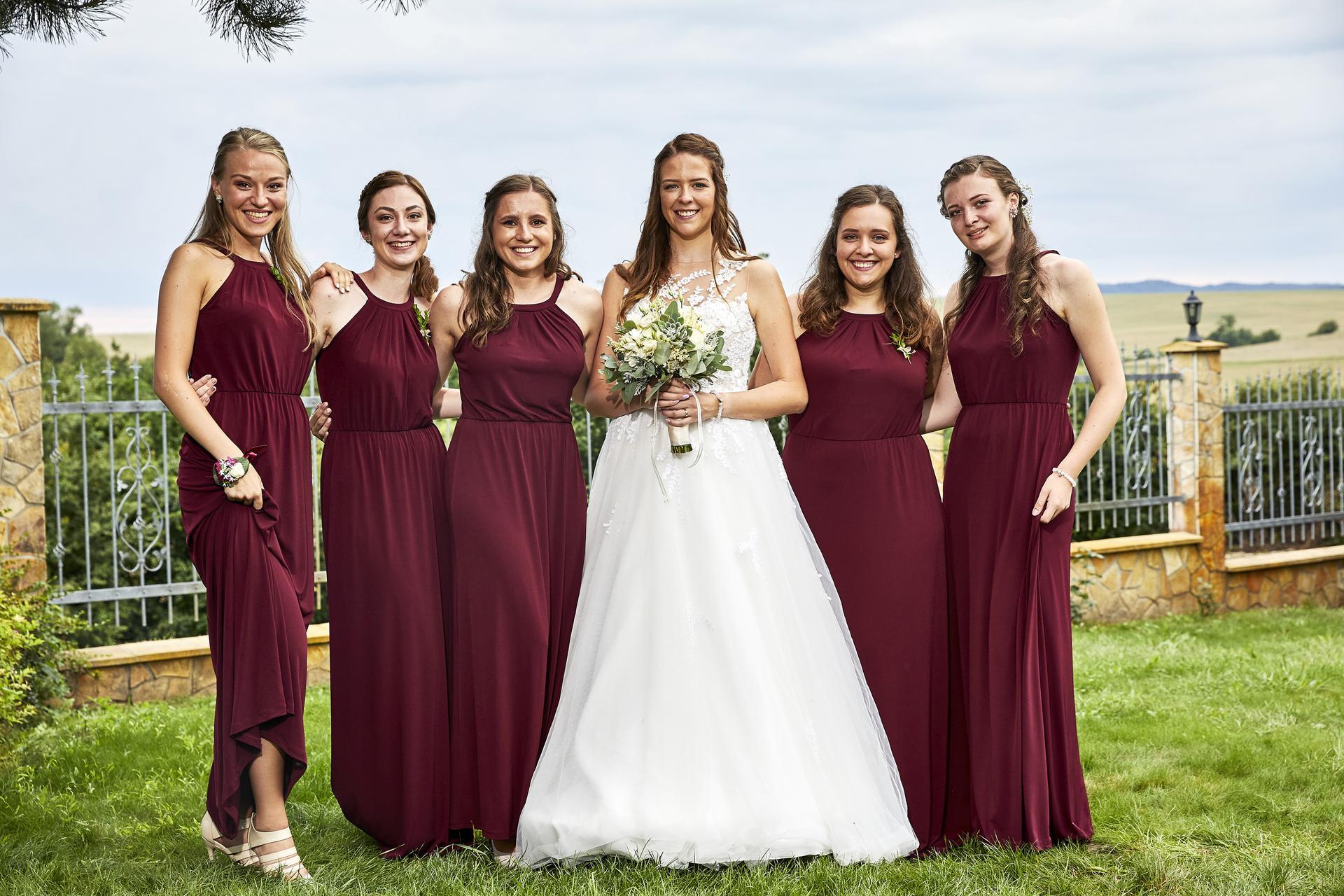 Naše slovácká svatba - Družičky