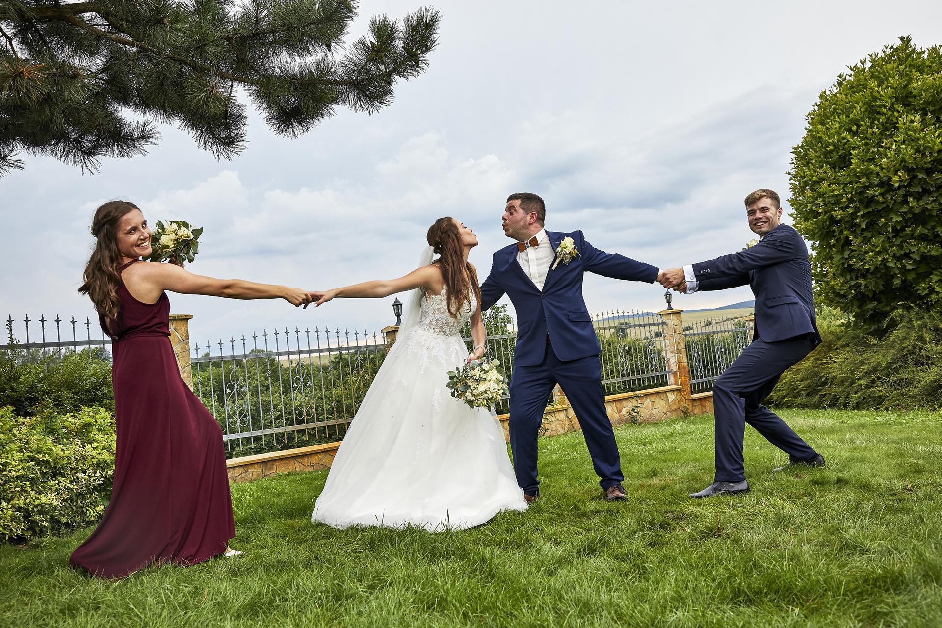 Naše slovácká svatba - Svědci :D