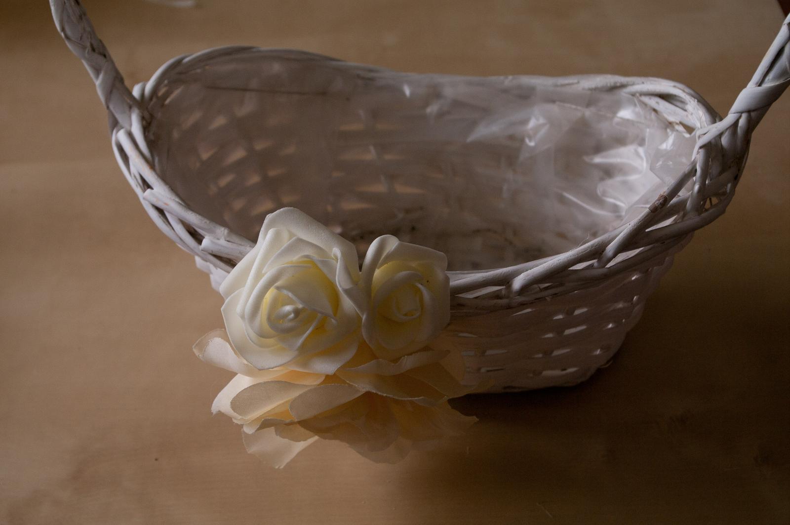 Košík na květinovou výzdobu nebo cokoliv jiného - Obrázek č. 3
