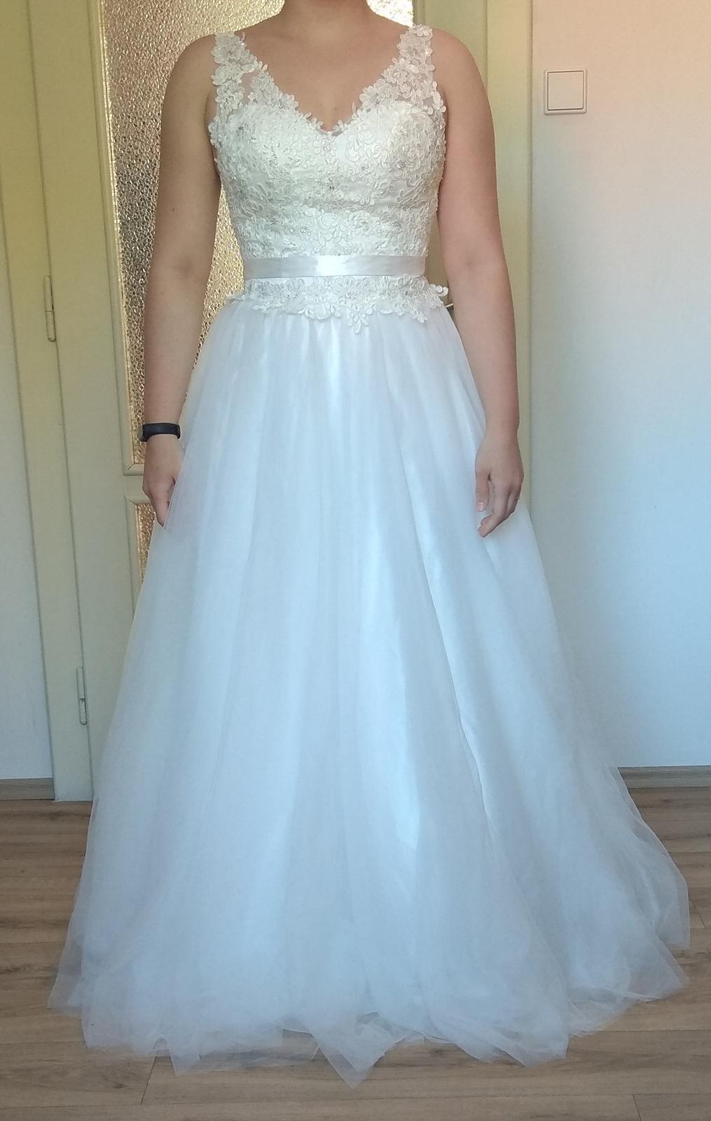 nové svatební šaty vel. 36 - Obrázek č. 1