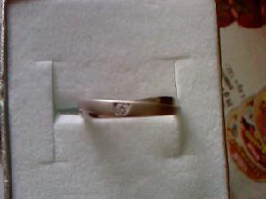 moj snubny prstienok :)