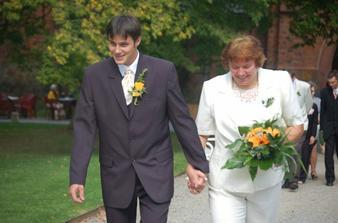 Můj budoucí manžel s maminkou, mou budoucí tchýní