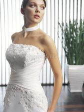 Pro nevěsty z okolí Valašského Meziříčí: Některé z kousků kolekce firmy Jasmine (USA) mají v saloně Sandra! Já za ty moje zaplatila 5500,- na tři dny. Paráda!