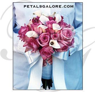Klára & Robert - tak toto je vítězná svatební kytička