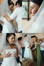 Príprava nevesty...