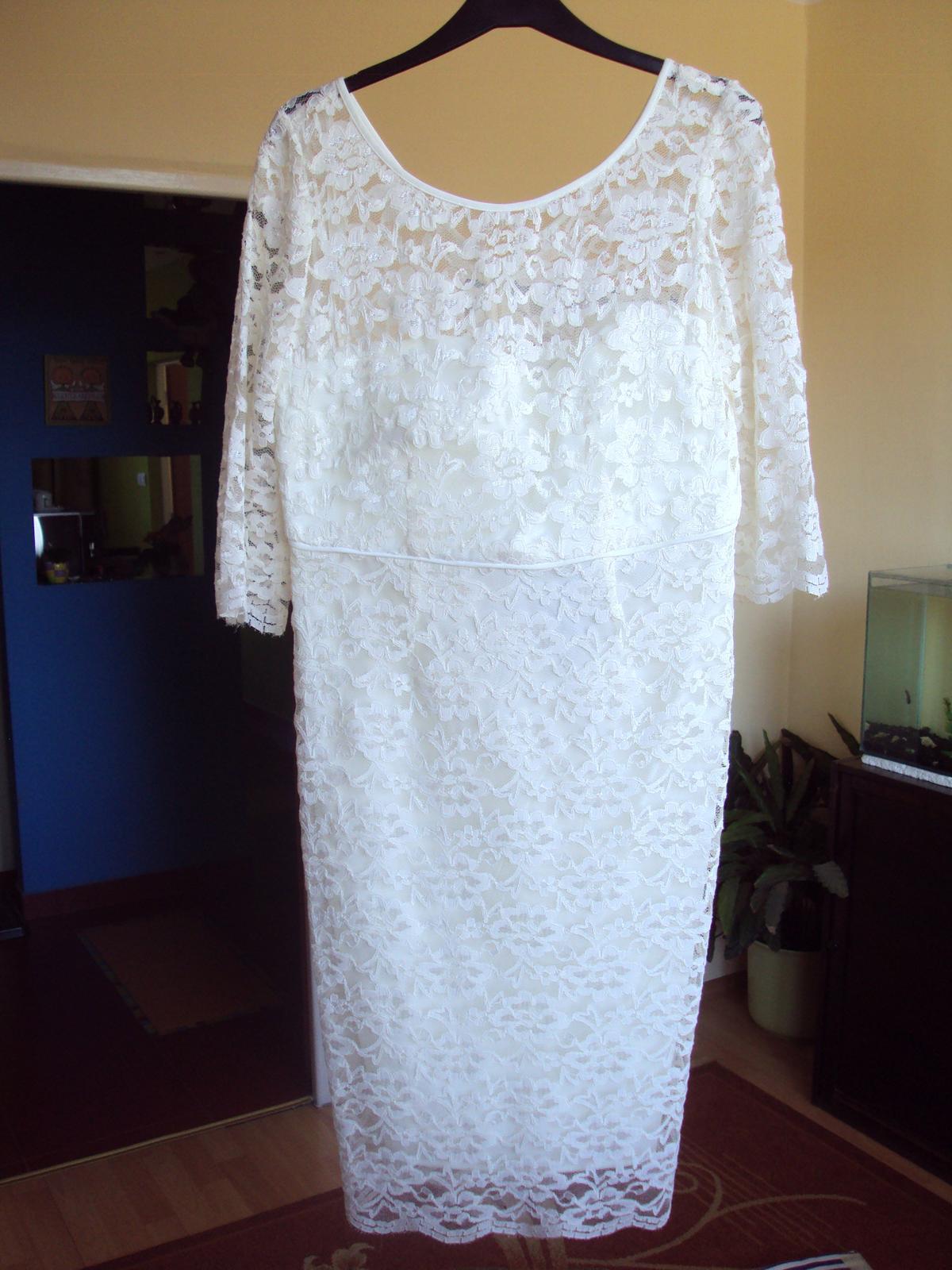 Čipkované šaty M&S - Obrázok č. 1