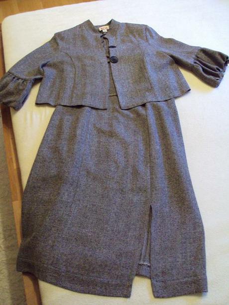 šatová sukňa s kabátikom - Obrázok č. 1