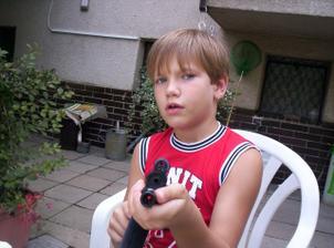 můj budoucí nevlastní syn Dominik