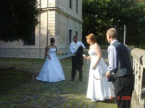 Iné nevesty počas našej svadby