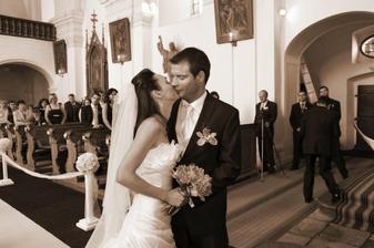 1.svatební polibek
