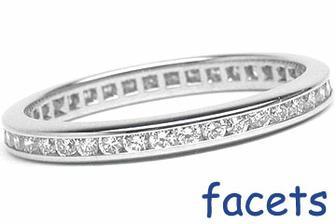 Muj snubni prstynek - 40 diamantu v platine