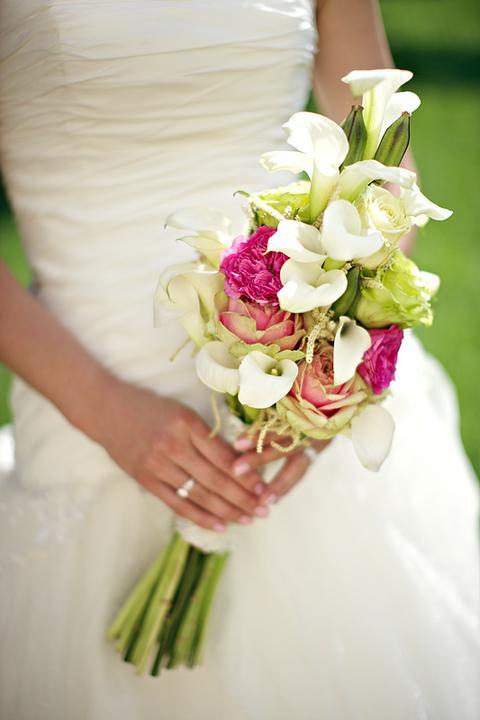 Easy Wedding - dekorační a květinový servis, půjčovna svatebních dekorací - kytice kaly