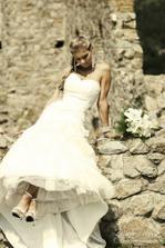Nádherná nevěsta, úžasný styl vše perfekt