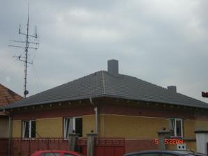 Takmer hotová strecha