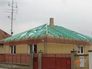 Konštrukcia strechy