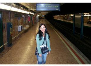 konečně v Madridu, je asi půl druhé ráno a to ještě nevíme, že budeme hledat ubytko :-))