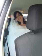 v autě-ještě svobodná