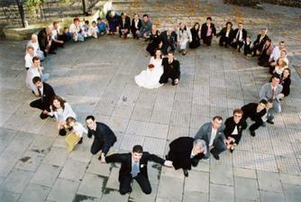hezký nápad, jen nemám tolik svatebčanů :(
