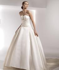 Objednané svatební šaty