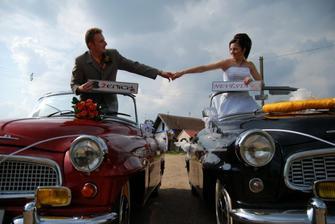 naše svatební autíčka