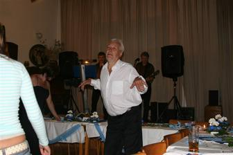 Tatínek tančil ;-))