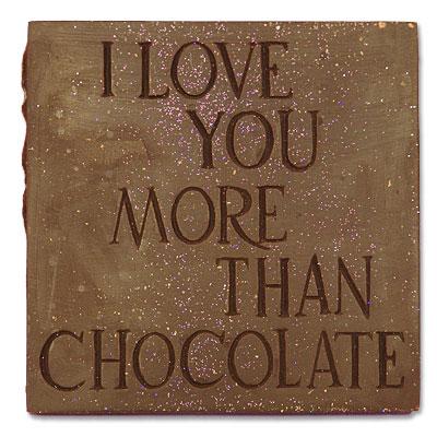 Katka a Juraj - cokolada pro mileho