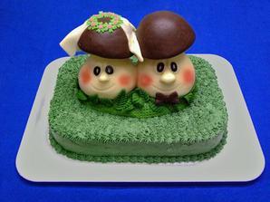 báječný dortík, ale skoromanžel ho zavrhl :-(