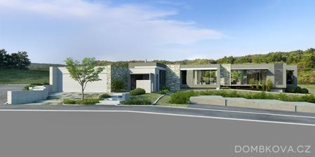Viac vizualizacii tohto nadherneho bungalovu tu: http://www.dombkova.cz/projekty/vizualizace/skorotice/