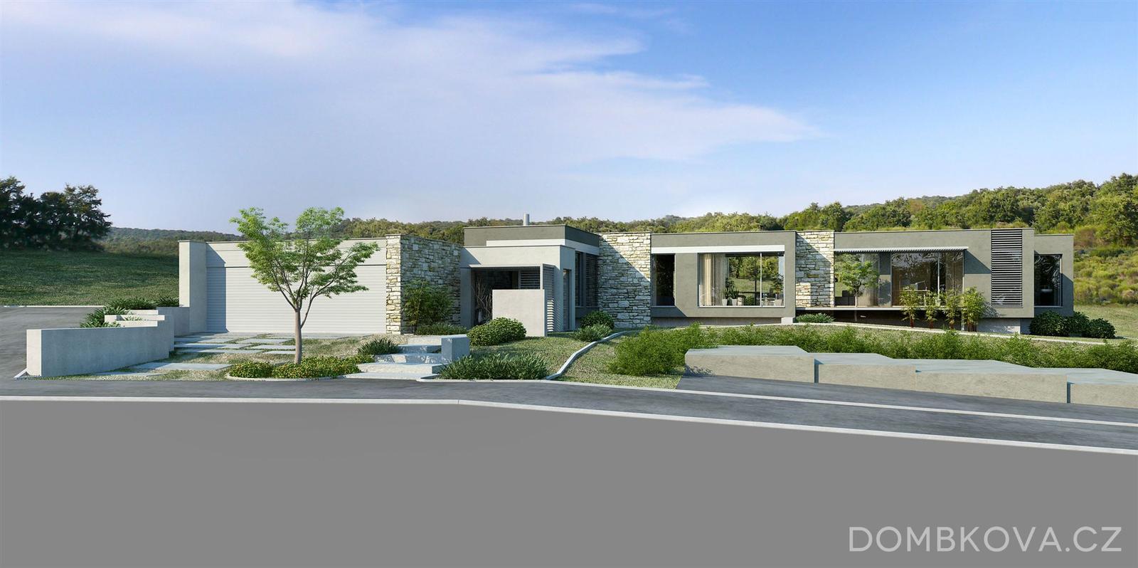 MIX resp. Páči sa mi :-* - Viac vizualizacii tohto nadherneho bungalovu tu: http://www.dombkova.cz/projekty/vizualizace/skorotice/