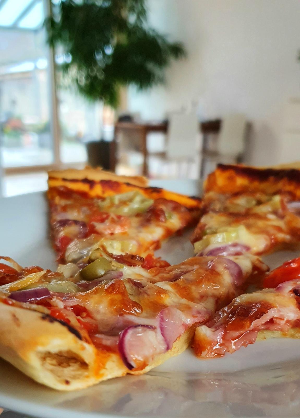T-éčko po roku 🏡 - Volny den a kvaskova pizza :-)