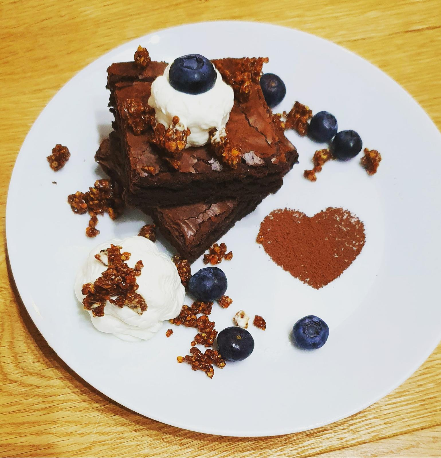 T-éčko po roku 🏡 - Brownies z lásky pre mojich ❤
