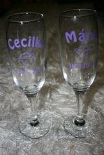 naše skleničky-vlastnoruční výroba