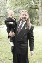 můj tatínek s vnoučkem